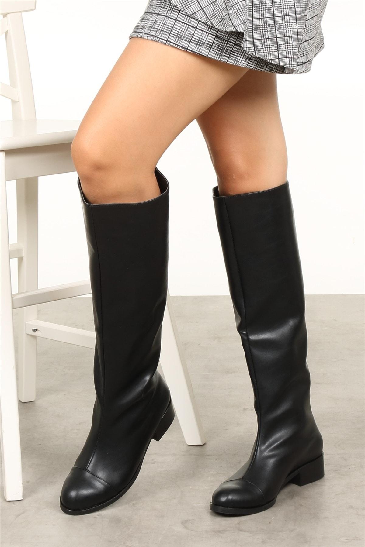 Mio Gusto Parley Siyah Çizme 2