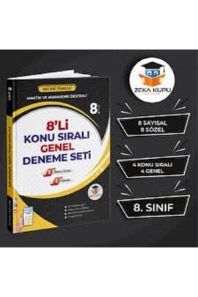 Zeka Küpü Yayınları 8.sınıf 8'li Lgs Deneme