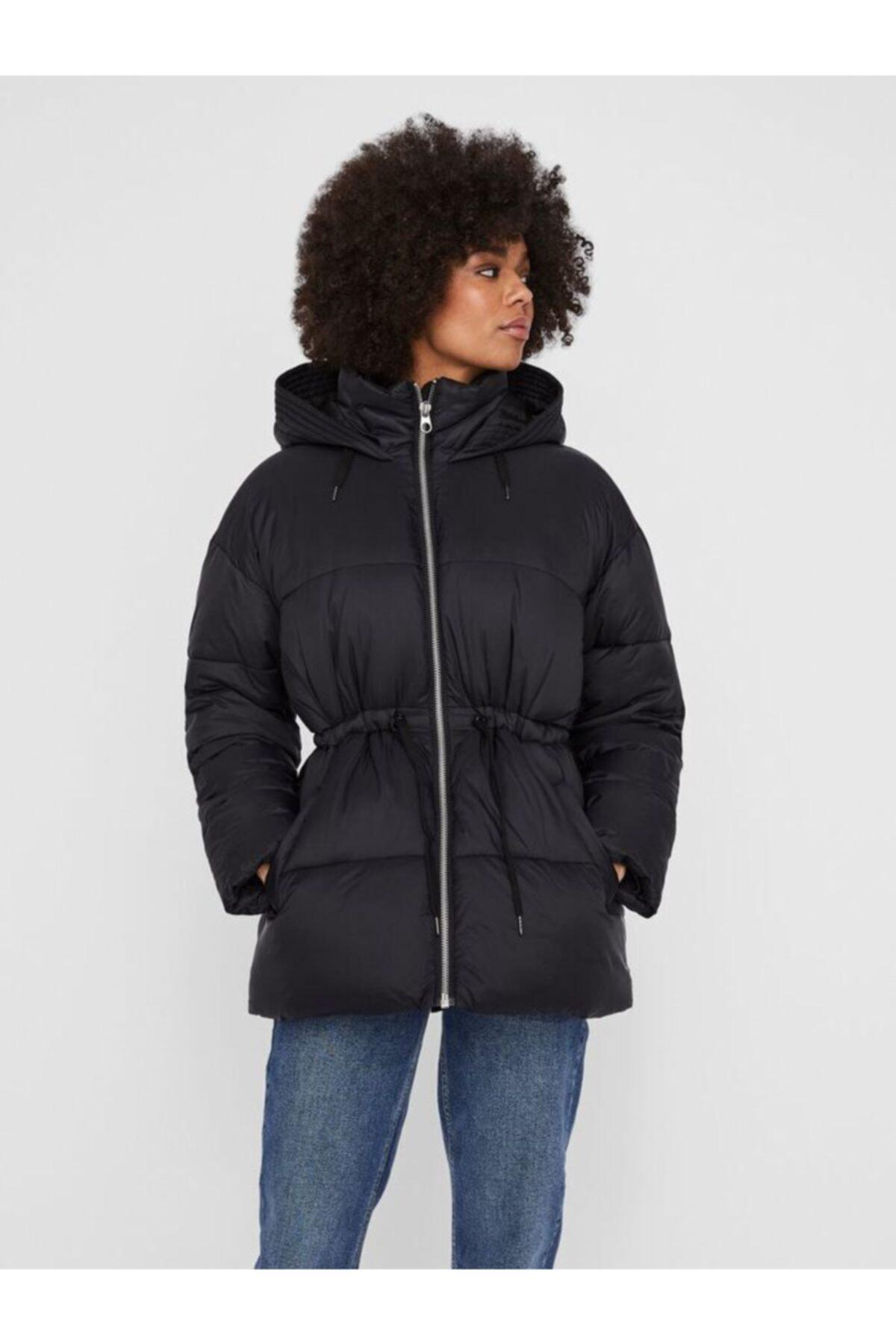 Vero Moda Kadın Siyah Vmsoho Jacket Mont 1