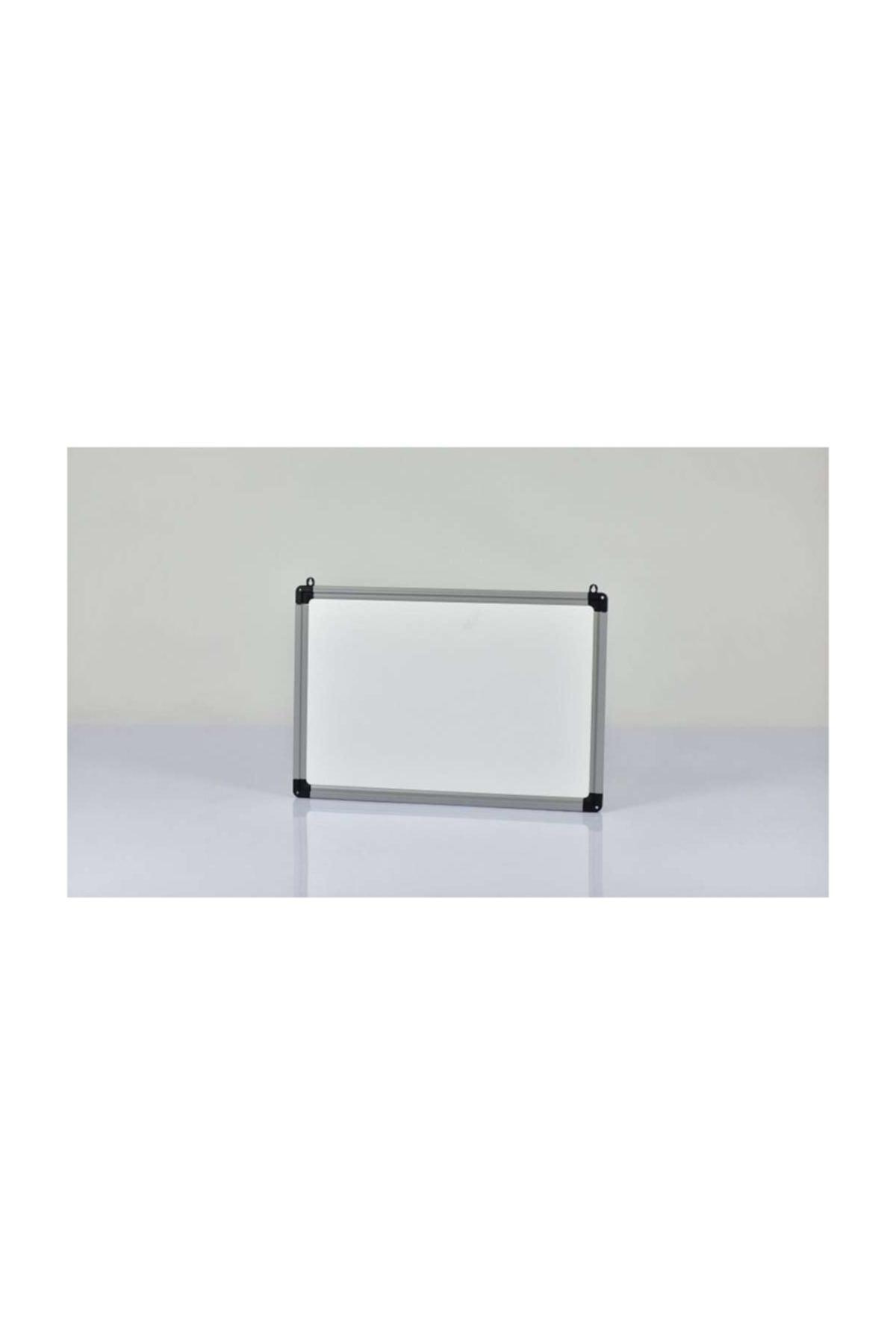 Hdg Yazı Tahtası Beyaz  Duvar Askı Aparatlı  Pvc Çerçeve 40x55 cm 1