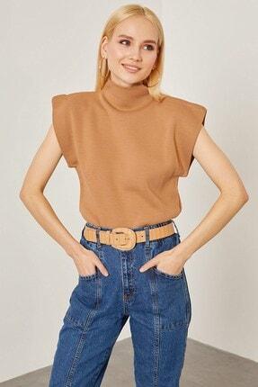 Arma Life Kadın Bisküvi Vatka Görünümlü Kolsuz Bluz
