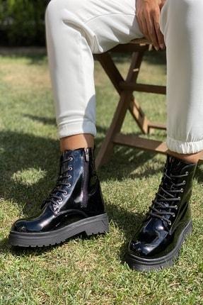 İnan Ayakkabı KADIN SİYAH RUGAN BOT&BOOTİE&POSTAL KY3040