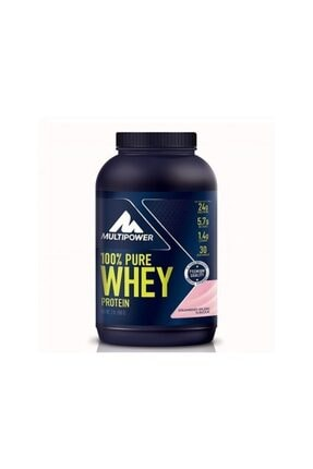Multipower %100 Pure Whey Protein 900 Gr - Çilek Aroma -