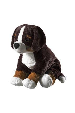 SEÇ Baskı Tasarım Siyah Peluş Köpek 38 Cm