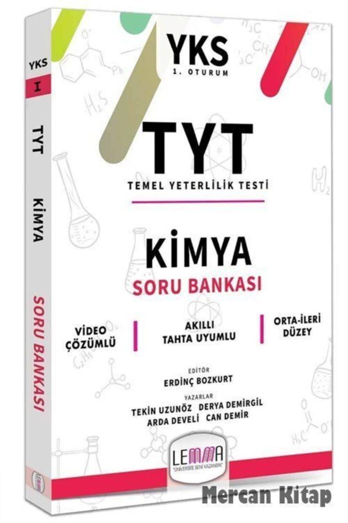 Lemma Yayınları 2020 Tyt Kimya Soru Bankası 1