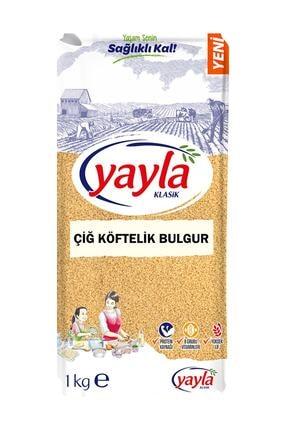 Yayla Çig Köftelik Bulgur 1 Kg