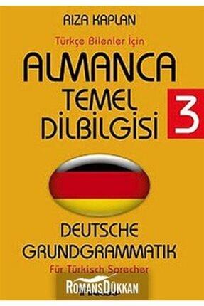 İnkılap Kitabevi Almanca Temel Dilbilgisi 3 & Deutsche Grundgrammatik - Für Türkisch Sprecher