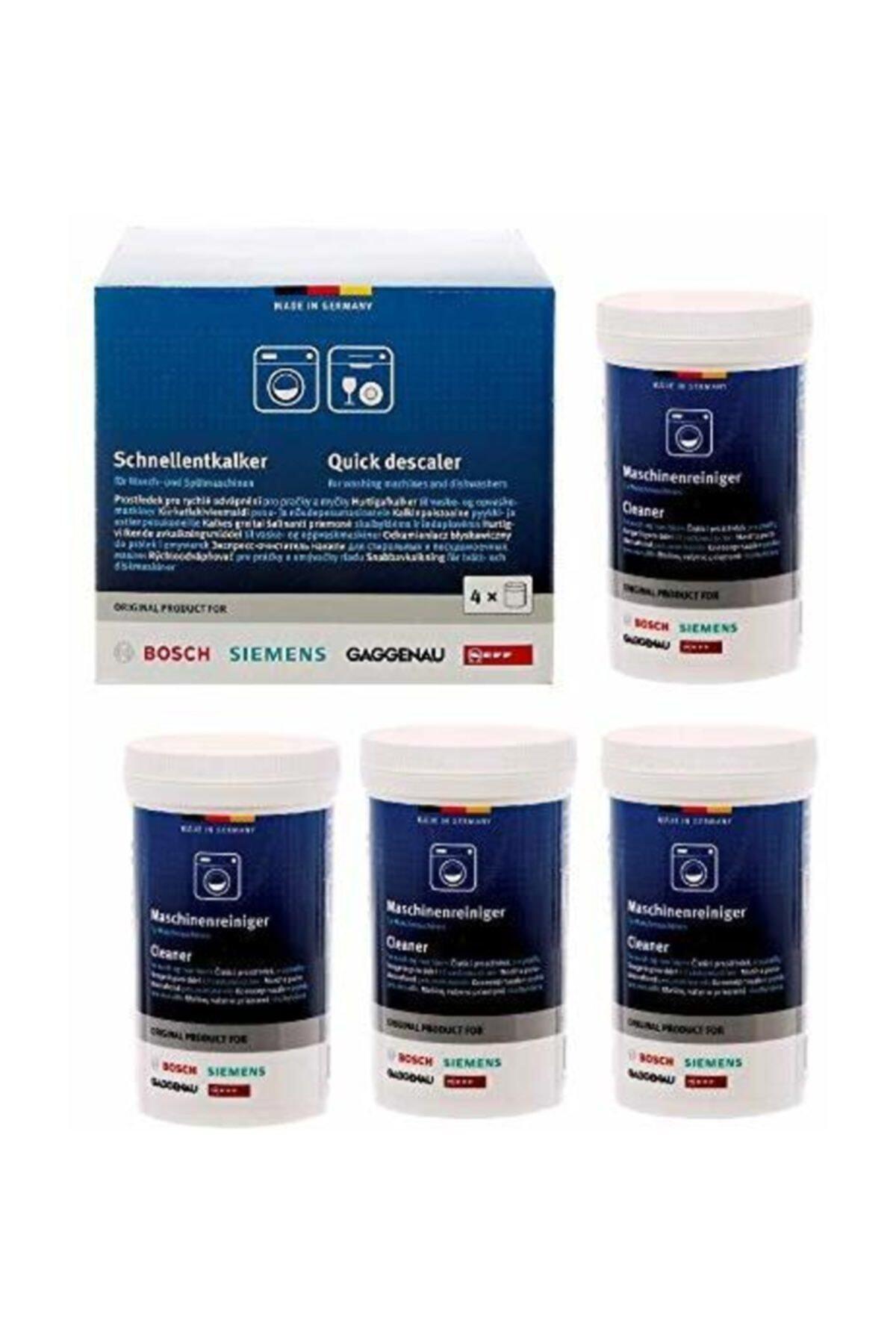Bosch Çamaşır Ve Bulaşık Makineleri Için Hızlı Kireç Çözücü 4'lü Paket 1
