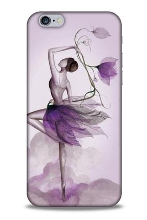 Lopard Y.liva-2020 (çiçekle Dans) Apple Iphone 6 Silikon Kapak Desenli Kılıf