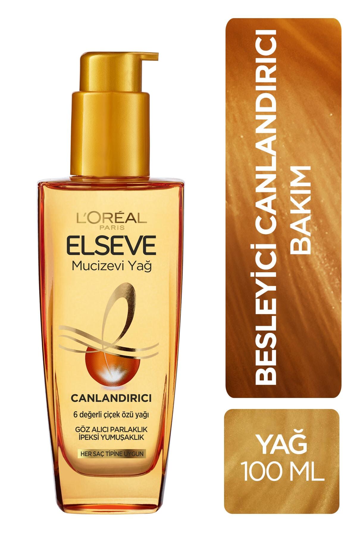 ELSEVE L'Oréal Paris Elseve Mucizevi Canlandırıcı Bakım Yağı 100 ml 1