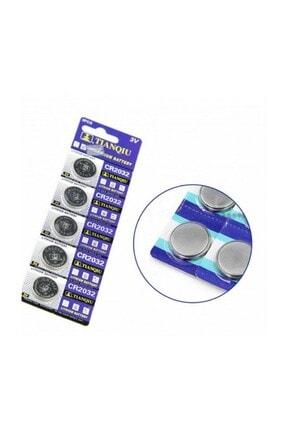 CMKStore Pil 5 Adet Cr2032 3 V Saat Oyuncak Pili