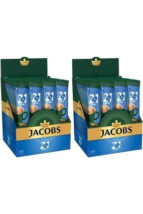 Jacobs 2'si 1 Arada Kahve 80 Adet