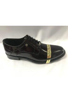 Pierre Cardin Erkek Bordo Hakiki Deri Ayakkabı