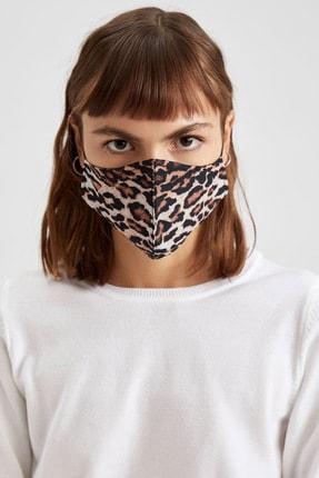 DeFacto Kaplan Desenli Yıkanabilir Maske