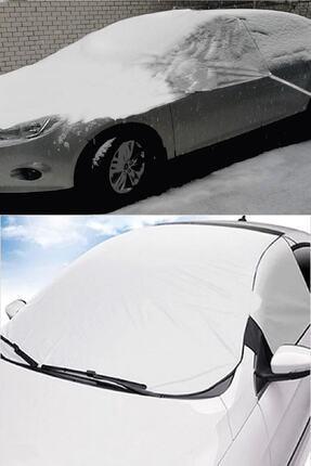AutoEN Buzlanma Önleyici Araba Cam Üstü Kar Örtüsü Su Geçirmez Ön Ve Yan Cam Koruma