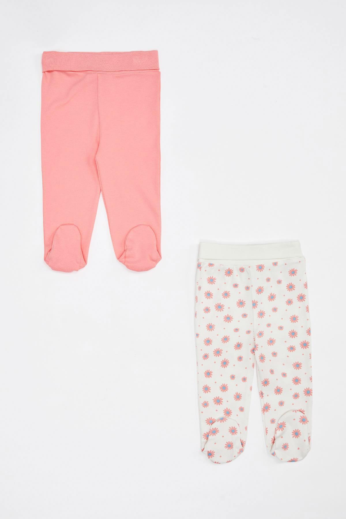 DeFacto Kız Bebek Yeni Doğan Pantolon 1
