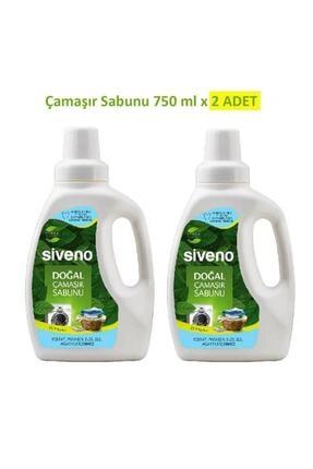 Siveno %100 Doğal 2'li Çamaşır Sabunu Seti 750 Ml