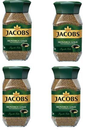 Jacobs Monarch Kahve Gold Cam Kavanoz 47,5 G X 4 Adet