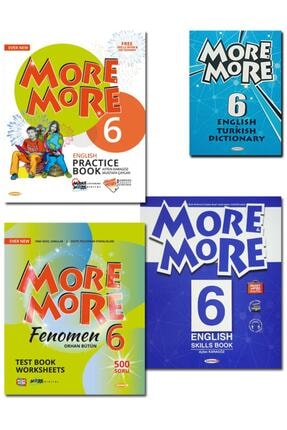 Kurmay ELT 6.sınıf More More Englısh Practıce And Fenomen Test Book 2021
