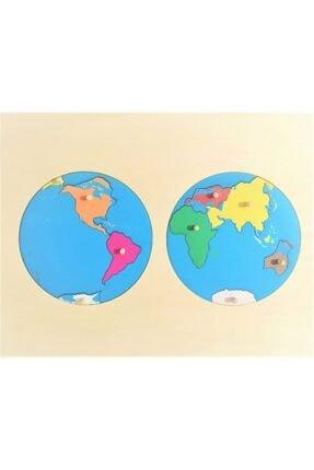 CS Joint Desing Montessori Dünya Puzzle
