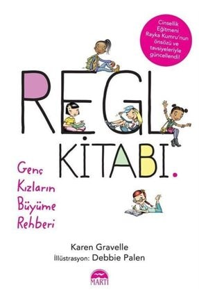 Martı Yayınları Regl Kitabı & Genç Kızların Büyüme Rehberi