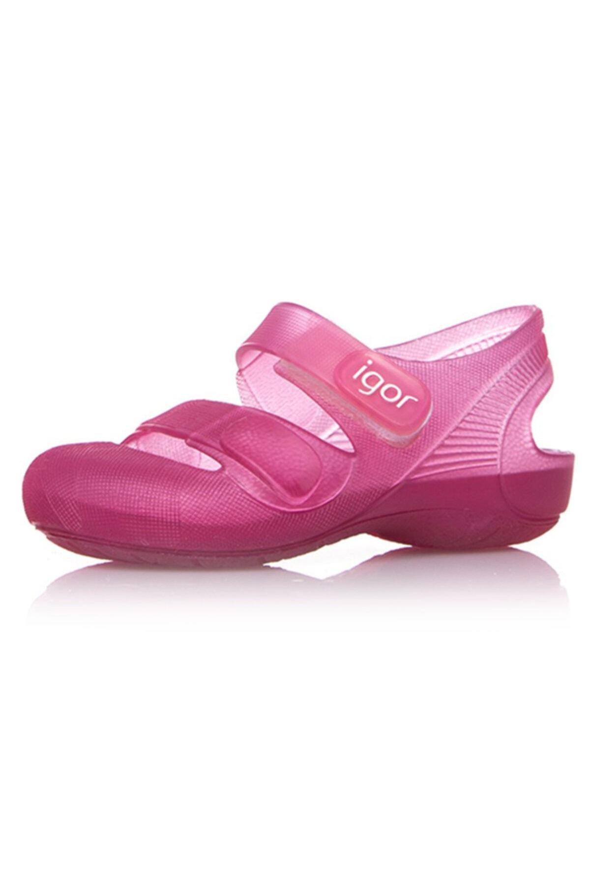 IGOR S10110-E67 Fuşya Kız Çocuk Sandalet 100293758 2