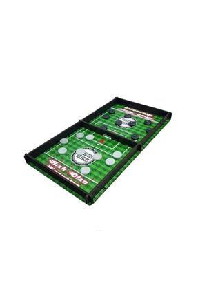 RoseRoi Futbol Arena 3 Taş Ve 9 Taş Oyunu 3 Oyun 1 Arada Ahşap Slingpuck Hızlı Sapan Oyunu