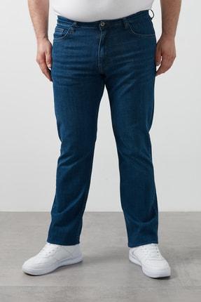 Buratti Erkek Mavi Regular Fit Pamuklu Büyük Beden Kot Pantolon 7280f187jeff