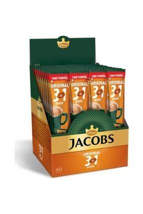 Jacobs Original 3'ü 1 Arada Kutu 40x16g Stick Karışım Kahve