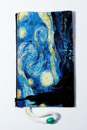 EFBUTİK Van Gogh Bez Kalemlik Cüzdan
