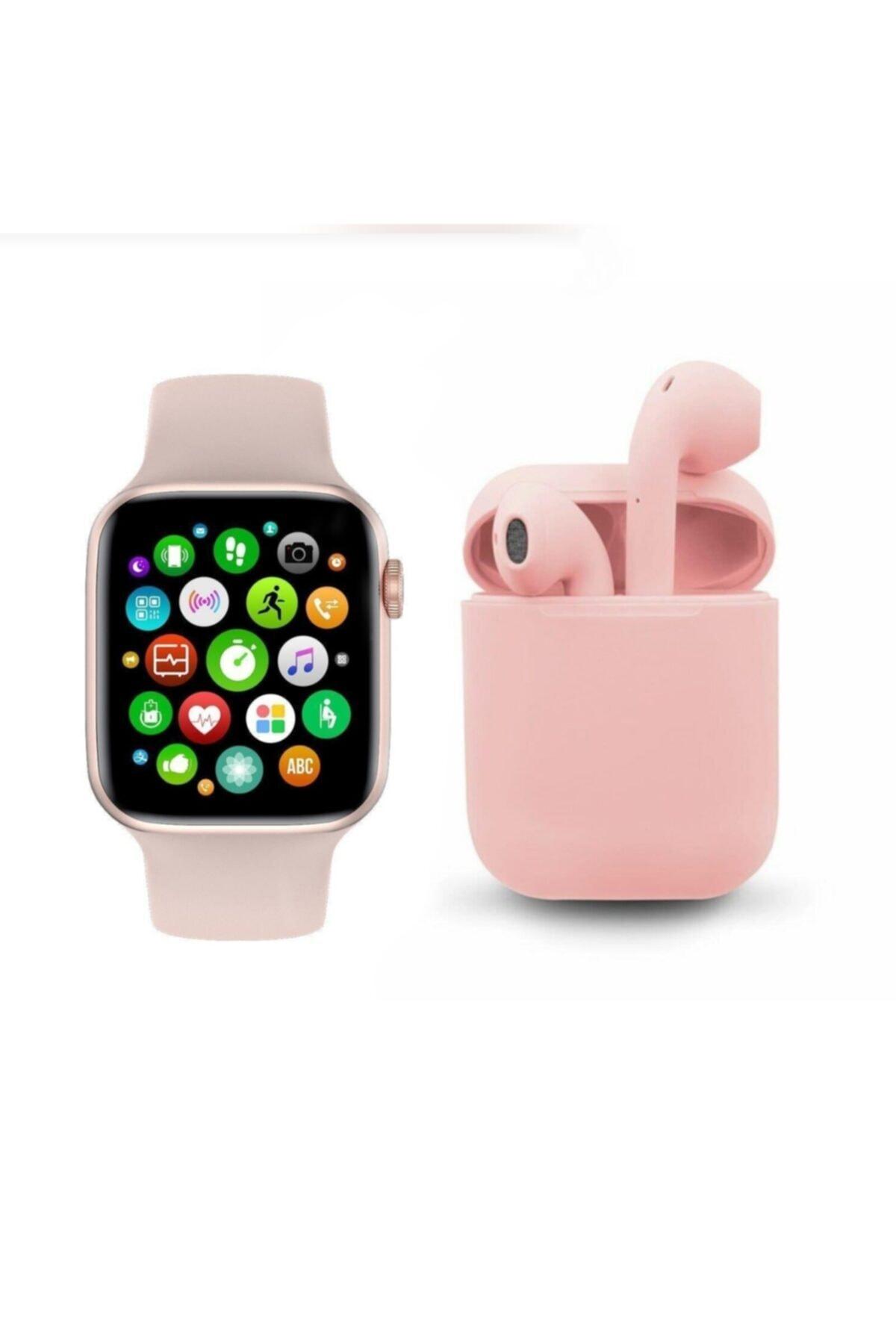 FERRO Watch 6 Plus Enson Seri 2021 Bluetooth Kulaklık Hediyeli Android Ve Ios Uyumlu 1