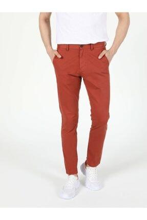 Colin's Erkek Kiremit Slim Fit Orta Bel Pantolon