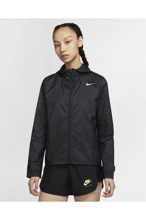 Nike Kadın Siyah Uzun Kol Rüzgarlık