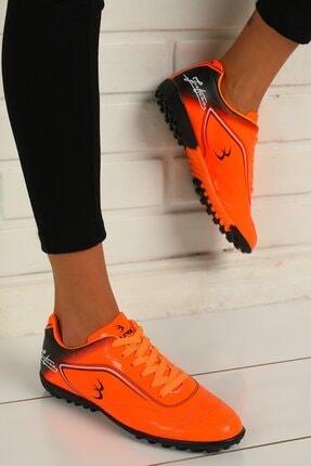 julude Kadın Orange Halı Saha Ayakkabı