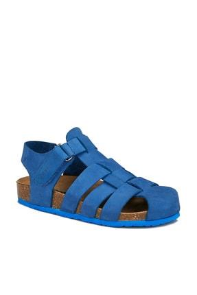 Vicco Arena Deri Erkek Çocuk Saks Mavi Sandalet