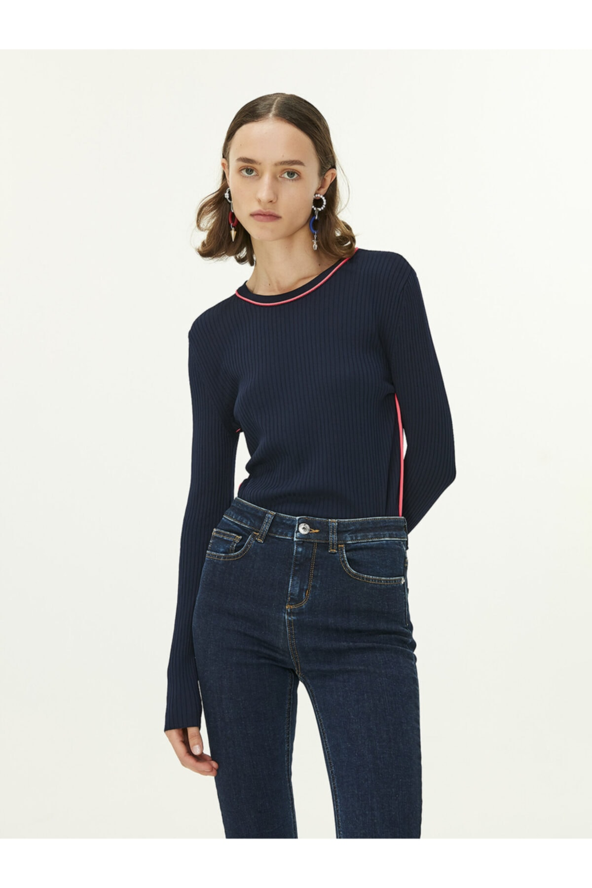 Twist Skinny Fit Jean Pantolon 1