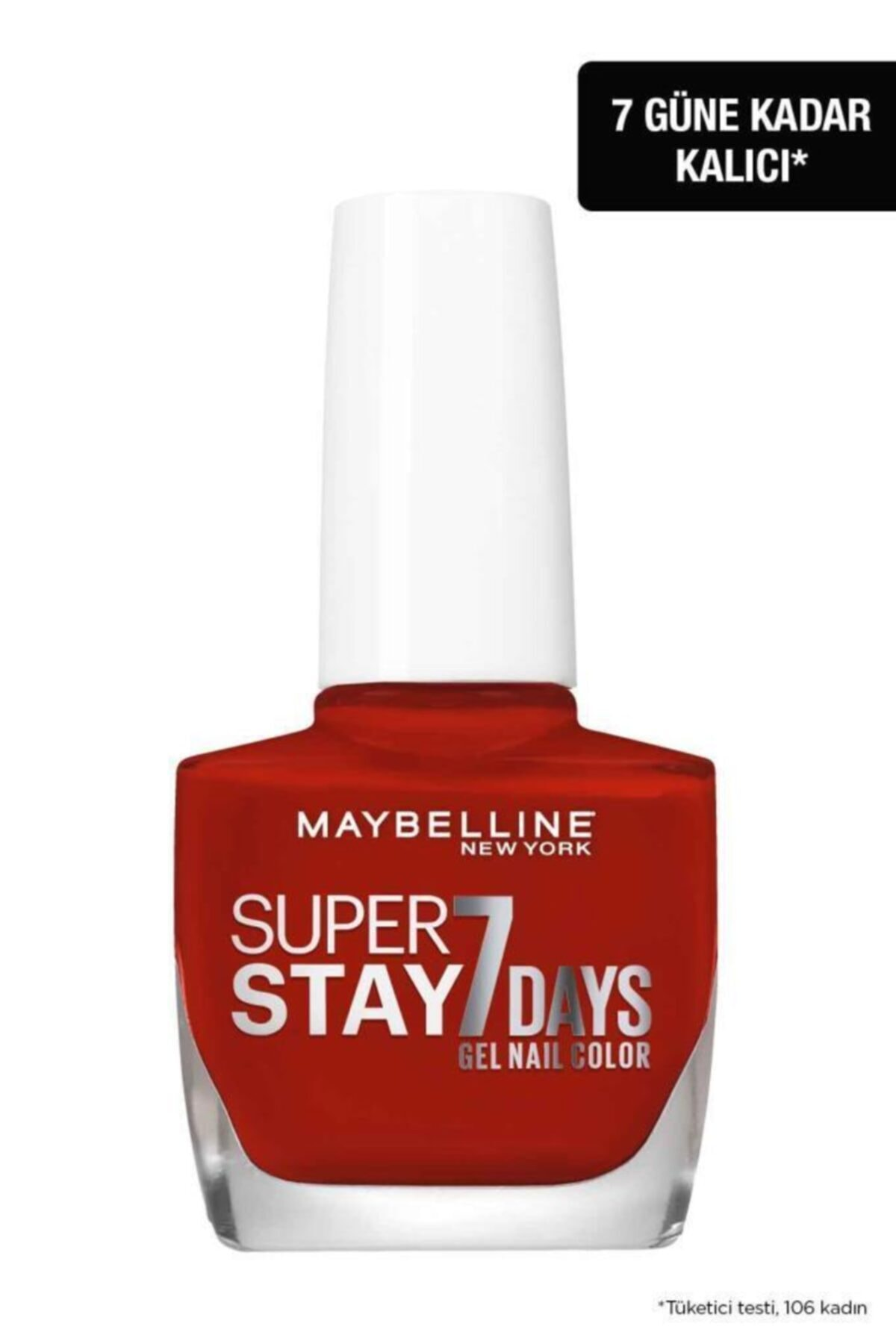 Maybelline New York Super Stay Oje- 06 Deep Red 2