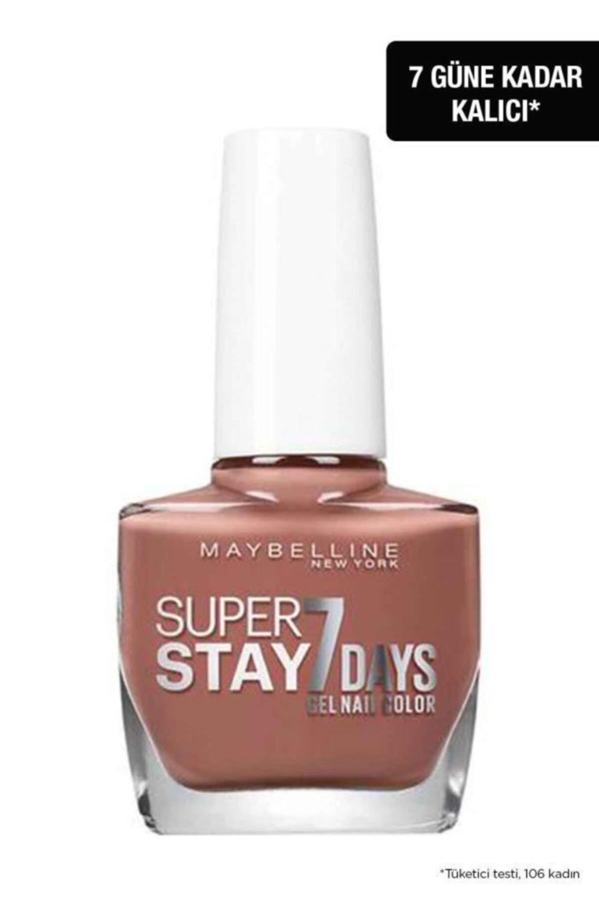 Maybelline New York Sstay 7d Cıty Nudes Nu 888 Brıck Oje 1