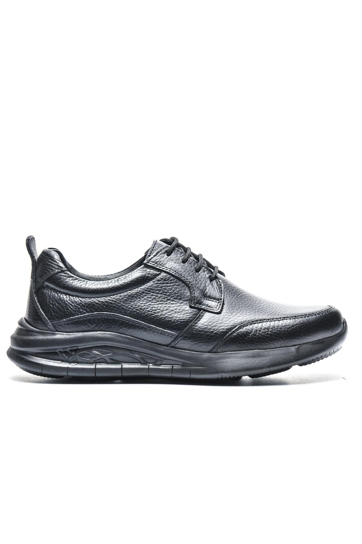 Bulldozer Erkek Siyah Comfort Ayakkabı 1