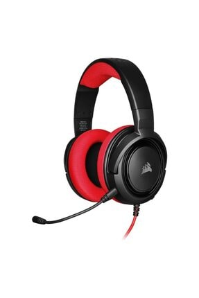 Corsair Hs35 Stereo Kırmızı Oyuncu Kulaklık-ca-9011198-eu
