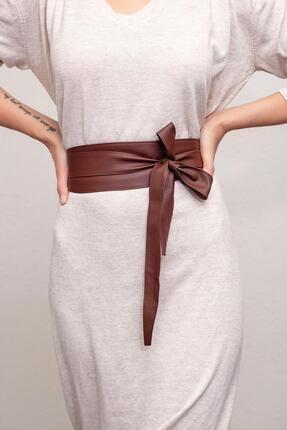 Modex Kadın Kahverengi Kuşaklı Bel Kemeri