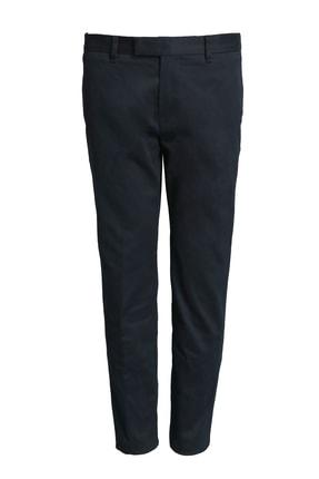 Lufian Erkek  Lacivert Aftel Smart Chino Pantolon Slim Fit Pantolon