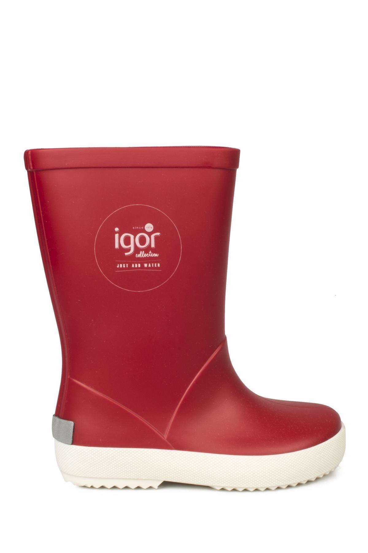 IGOR SPLASH NAUTICO Kırmızı Unisex Çocuk Yağmur Çizmesi 100317971 2