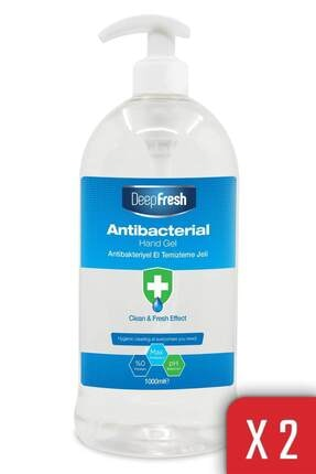 Deep Fresh Antibakteriyel Jel 1000 ml X 2 Adet