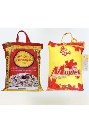 Zarrin Mehr Pirinç 1121 Basmati 5 Kg + Mojdeh Safran Aromalı 5 Kg