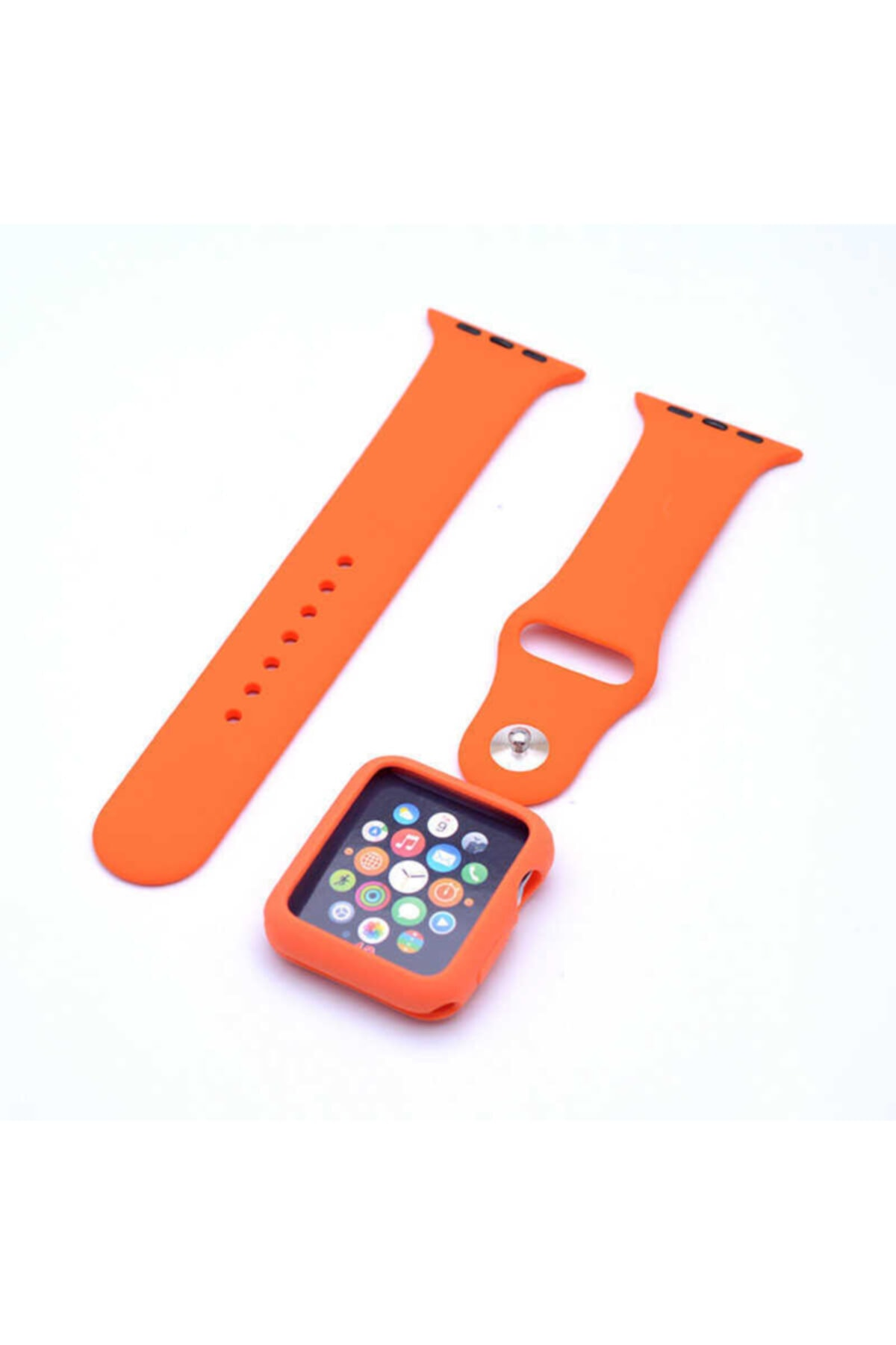 DIJIFABA Apple Watch 44mm Zore 3 In 1 Klasik Kordon 1