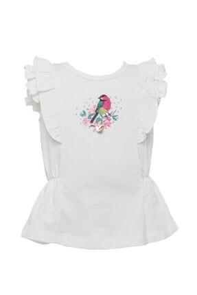 Zeyland Kız Çocuk Beyaz T-Shirt 81M2PNR54