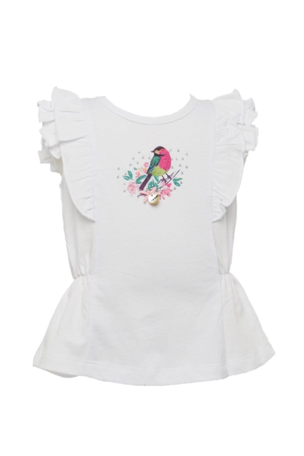 Zeyland Kız Çocuk Beyaz T-Shirt 81M2PNR54 1