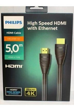 Philips 5 Metre Hdmı Kablo High Speed W Ethernet 30hz Ultra Hd 4k - 5 Metre Swl6116e