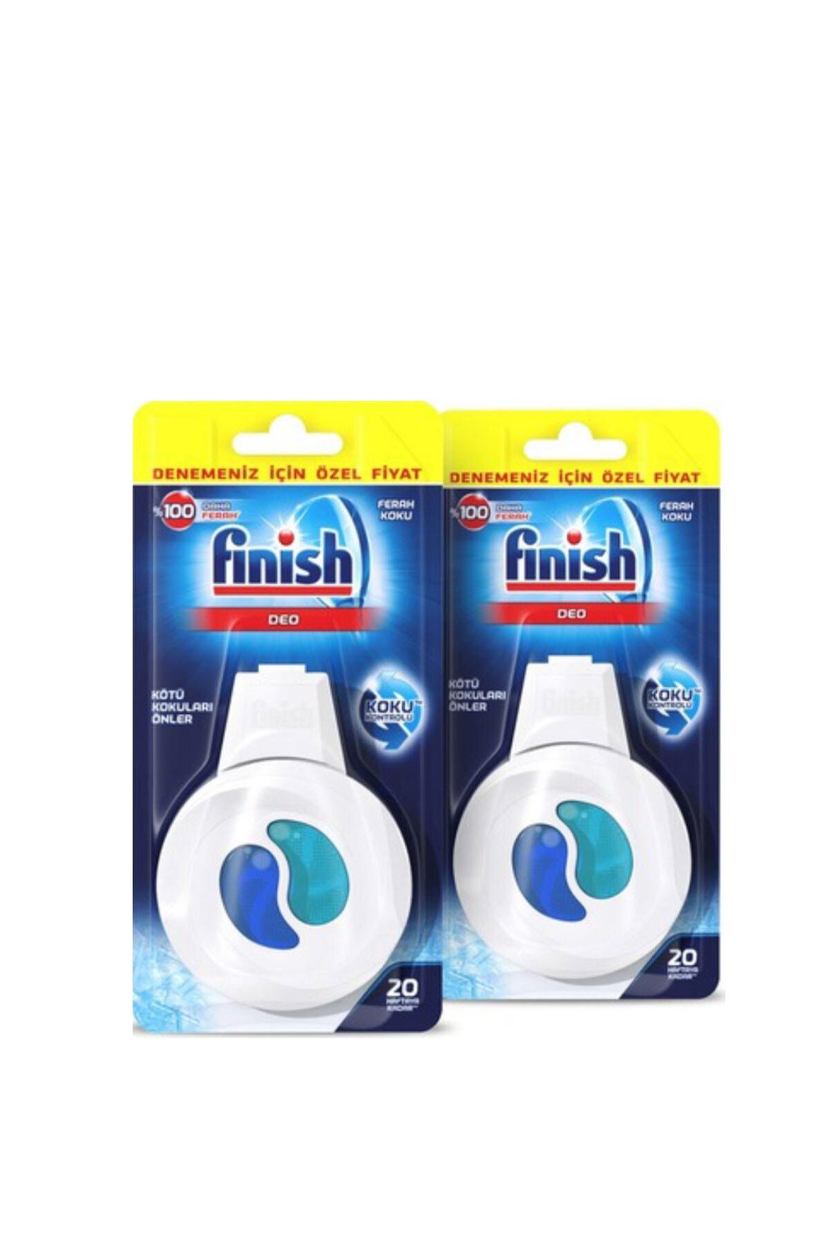 Finish Deo Ferah Bulaşık Makinesi Kokusu  4 ml 2 Adet 1